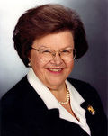 Barbara Mikulski official photo
