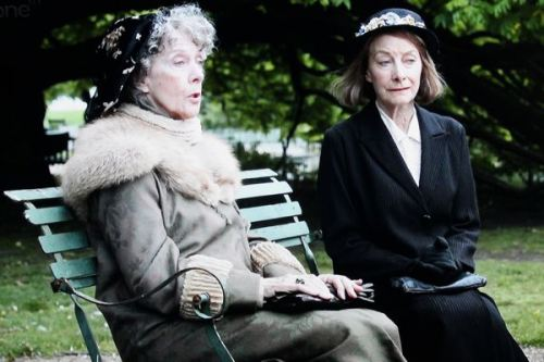 Jean Marsh And Eileen Atkins Upstairs Downstairs 2010